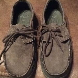 CROCS Men's suede top shoes